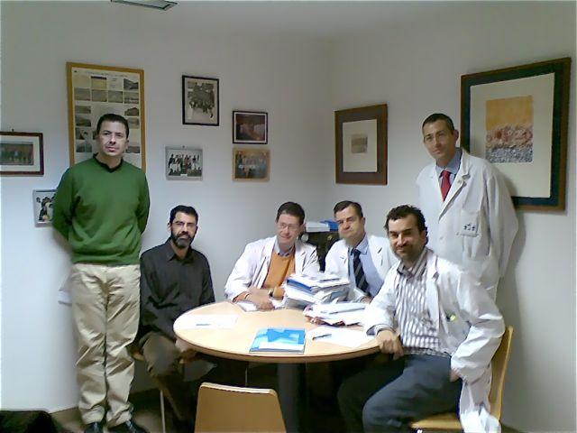 Grupo de trabajo de incidentes críticos HU Fundación Alcorcón en 2008