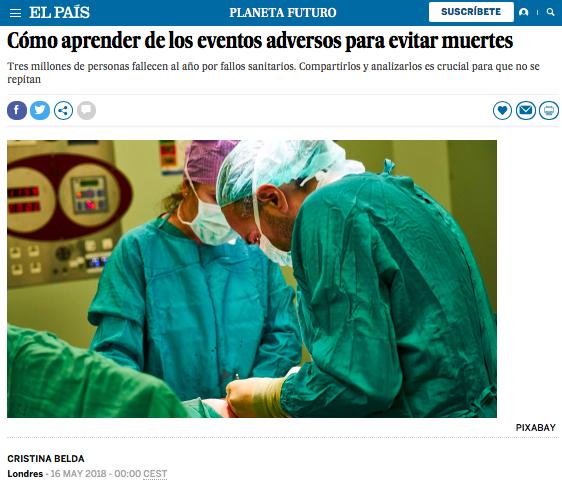 SENSAR en El País